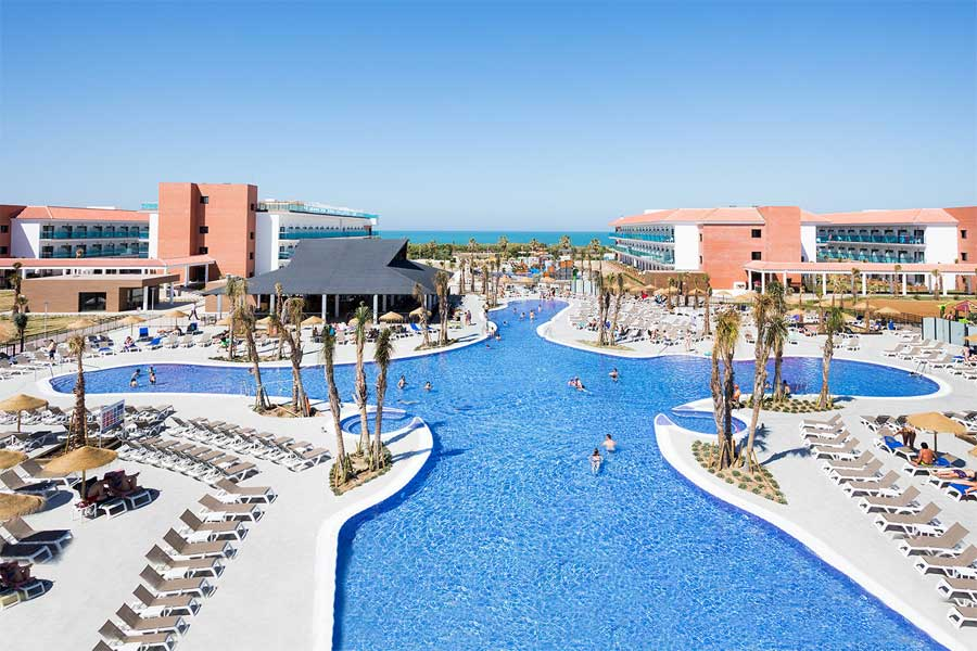 Hotel Best Costa Ballena swimming pools