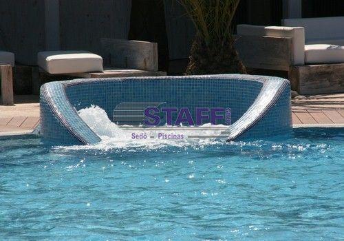 Piscina Con Jacuzzi Exterior.Hidroterapia Para Piscinas Camas De Agua Jacuzzi Y Hot Tub